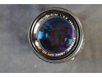 Vintage 135mm PENTAX LENS. Excellent condition.