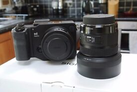 Sigma SD Quattro Foveon Digital Camera with Sigma 30mm F1.4 Art Lens