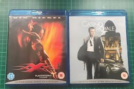 2 x Blu Ray Movies - Casino Royale and xXx