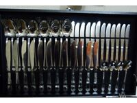 75 piece cutlery set in box
