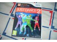 Just Dance 2 Nintendo Wii, Boxed complete