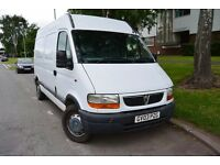 Vauxhall Movano, Recent MOT, Ply Lined, White, Good underbody, LEZ Compliant. 2003 Diesel, Serviced