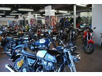 Biggest range of 50c and 125cc scooters & bikes **Finance & CBT Arranged**