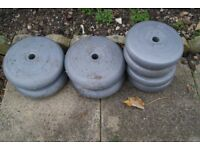 Selection of weights