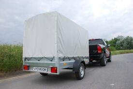 Box trailer 7x4 750kg single axle with covers