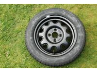 Vauxhall Agila Wheel & Continental Tyre