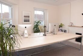 Desk spaces available in shared office on Portishead High Street