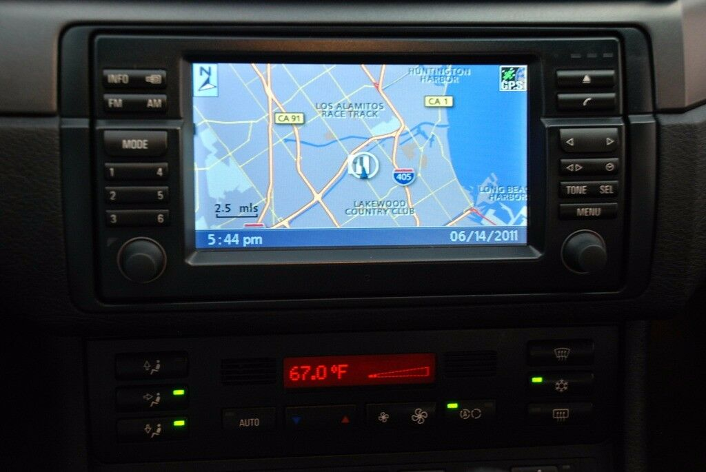 new bmw e46 navigation monitor display wide screen lcd. Black Bedroom Furniture Sets. Home Design Ideas