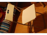 2x Simple foldable IKEA chairs