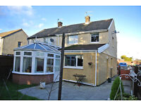 Lovely 3 bed Semi detached house for rent unfurnished/partially furnished 550pcm