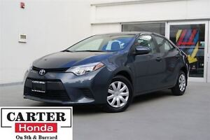2014 Toyota Corolla CE + + A/C + BLUETOOTH + LOCAL!