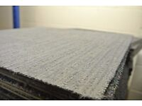 Grey Stripe Carpet Tiles