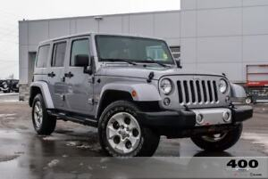 2014 Jeep Wrangler Sahara*DUAL TOPS*ONE OWNER TRADE IN*