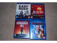 4 Classic films on Blu-Ray