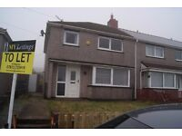 3 Bedroom house to let - Gainsborough Road, Cefn Golau TREDEGAR