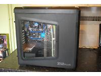 BARGAIN ! Zalman Intel Core i5-4570S 2.90GHz, 8GB Ram, 1TB, HD Graphic 4600 Gaming, Wi-Fi, Win 7 CD