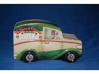 Car shaped Wallace & Gromit tin