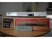 PIONEER DV-464-S SILVER MULTI-REGION DVD PLAYER (BOXED WITH REMOTE) * DV-464S