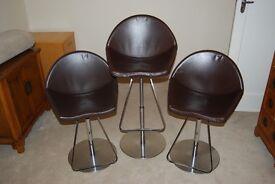 Cattelan Italia Bar stools x3
