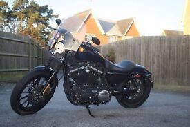 Harley Davidson US SPEC with alarm system