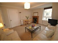1 bedroom furnished flat to rent in Raeburn Place (sorry no students)