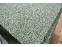 Heuga 345 Green Carpet Tiles