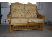 2 Seater Cane Settee in very good condition