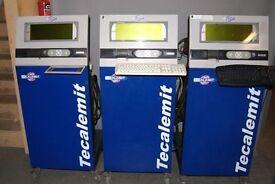Job Lot of 3 Tecalemit Opacimeters TD4104, Buyer arranges transport.