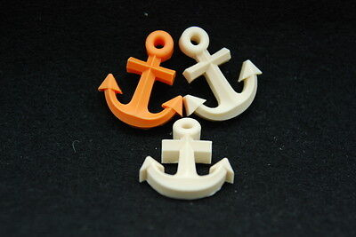 1 Anchor, Silicone Mold Chocolate Polymer Clay Jewelry Soap Melting Wax Resin