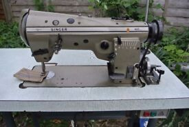 Singer Freehand Embroidery Zig Zag industrial sewing machine Model 457A 105
