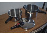 Magefesa Super Fast Pressure Cooker trio 4 +6