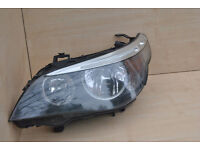 BMW 5 SERIES E60 OR E61 HALOGEN HEADLIGHTS - x2 PAIR FOR SALE - GOOD FITS 2004-2007 E60 E61 MINT