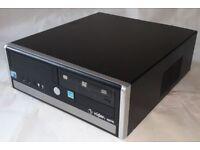 Computer PC Viglen Genie, Intel Core 2 Duo, E7500, 2.93GHz, 4GB Ram, 250GB HDD
