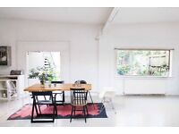 Beautiful Spacious East London Warehouse office or desk space