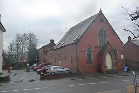 Spacious 2 storey flat in church conversion