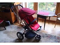 Quinny Buzz Travel System in Red