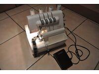 Multi-Function Sew Easy super Serger overlocking sewing machine 4 thread