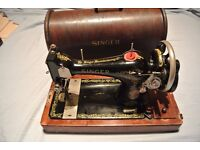 Vintage 128K Singer Sewing Machine