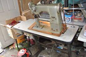 PFAFF POSTBDED HEAVY DUTY industrial Sewing machine Model 193-125A