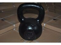 Brand New Black Painted Kettlebells 4KG - 32KG - £1.50/kg (Weights Gym)