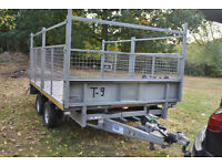 ifor williams cages side trailer as new