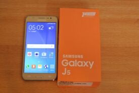 samsung j5 gold unlocked like new 70£