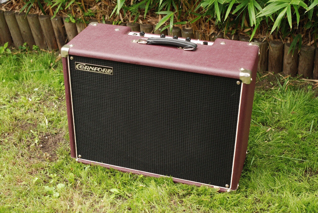 Cornford Harlequin Mk I all-valve guitar amplifier, excellent condition