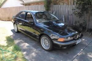 1998 BMW 535i V8 Sedan Mitcham Whitehorse Area Preview