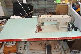 Typical WALKING FOOT INDUSTRIAL SEWING MACHINE(For UPHOLSTERY, HANDBAGS
