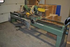 USED Double Chop Saw in Working Condition