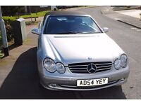 MERCEDES BENZ CLK320 AVANTGARDE AUTO VERY LOW MILES ONE OWNER FSH ONLY £3995
