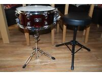 snare, stand and stool