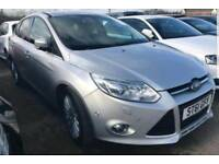 61 Plate 2012 Ford Focus 1.6 TDCi TITANIUM X - High Spec - Full Service History *** Only £20 Tax