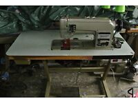 TOYOTA TWIN NEEDLE FEED INDUSTRIAL SEWING MACHINE for Leather, Canvas, Denim, Sail making
